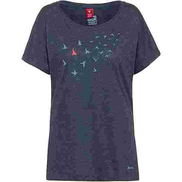 OCK T-Shirt Damen navy