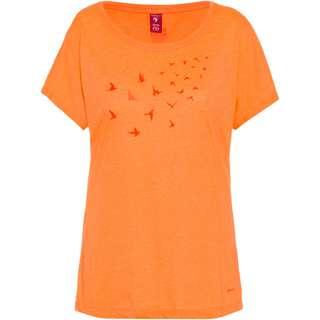 OCK T-Shirt Damen orange