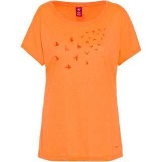 OCK T-Shirt Damen nectarine