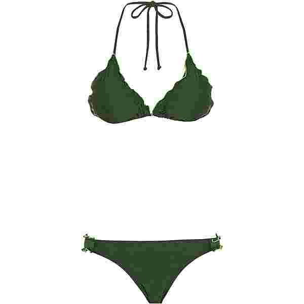 Maui Wowie Bikini Set Damen dunkelgrün