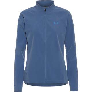Under Armour Launch 3.0 STORM Laufjacke Damen blue