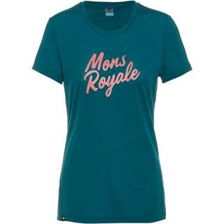 Mons Royale Merino Icon Funktionsshirt Damen Deep Teal