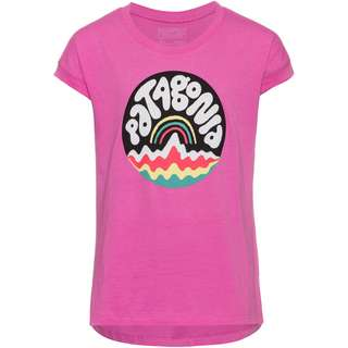 Patagonia GRAPHIC ORGANIC T-Shirt Kinder bubble fitz/marble pink