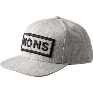 Mons Royale Connor Cap grey marl