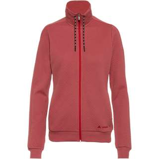 VAUDE Redmont Sweatjacke Damen dusty rose