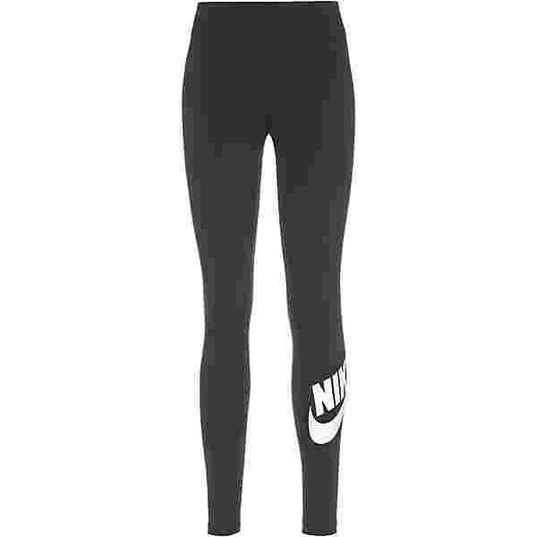 Nike NSW Essential Leggings Damen black-white