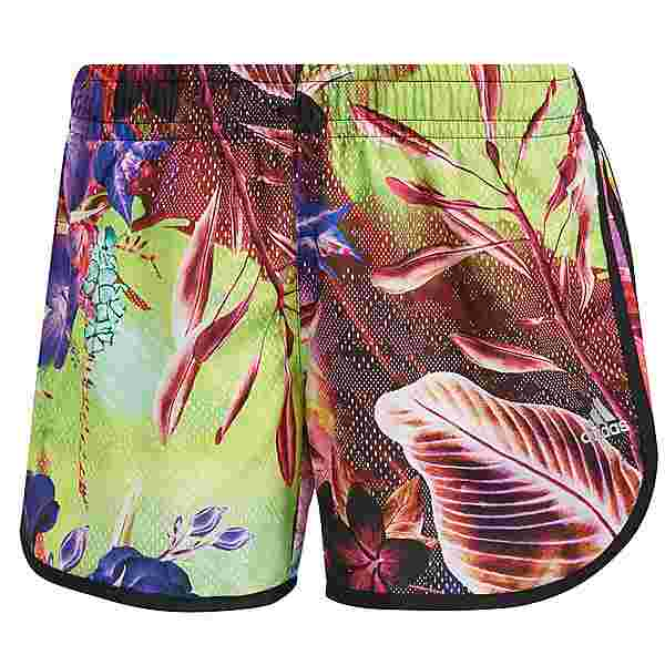 adidas FLORAL MARATHON 20 RESPONSE AEROREADY Funktionsshorts Damen wild pink-screaming pink