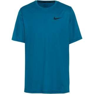 Nike Hyper dry Funktionsshirt Herren obsidian-green abyss-htr-black
