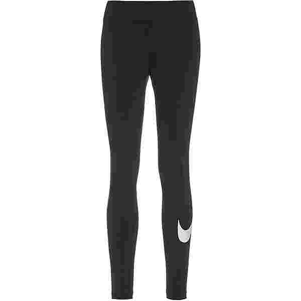 Nike NSW Essential Leggings Damen black-white
