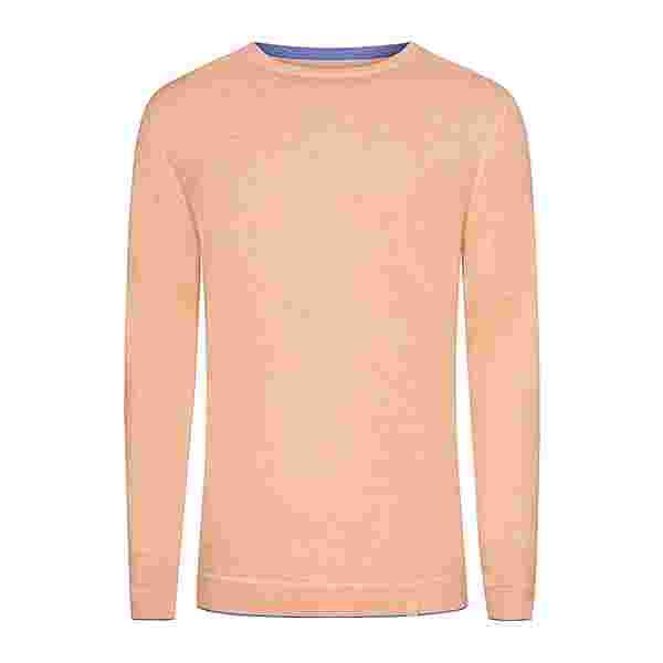 Colours & Sons Ronald Strickpullover Herren orange