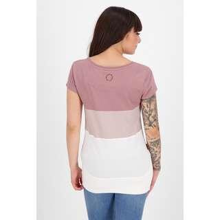 ALIFE AND KICKIN CleaAK T-Shirt Damen plum