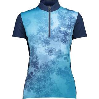 CMP WOMAN BIKE T-SHIRT Trikot Damen bianco-fragola
