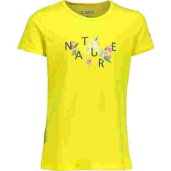 CMP T-Shirt Kinder lemon