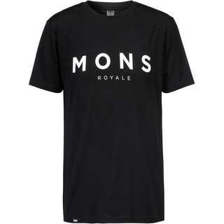Mons Royale Merino Icon Funktionsshirt Herren black