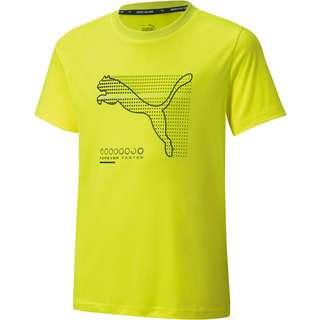 PUMA ACTIVE SPORTS T-Shirt Kinder yellow alert