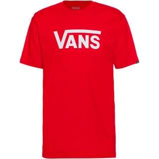 Vans Classic T-Shirt Herren high risk red-white