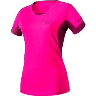 Dynafit VERT 2 Funktionsshirt Damen pink glo