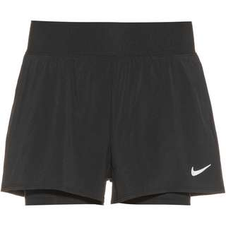 Nike Court Flex Victory Tennisshorts Damen black-white