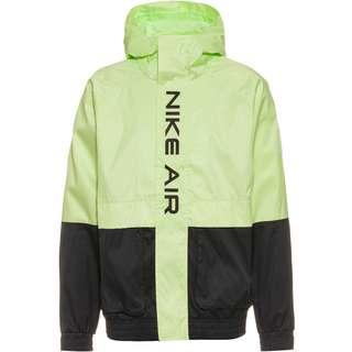 Nike NSW Air Nylonjacke Herren black-lt liquid lime-black