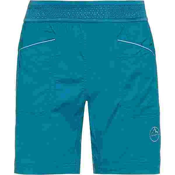 La Sportiva Onyx Short Kletterhose Damen topaz-celestial blue
