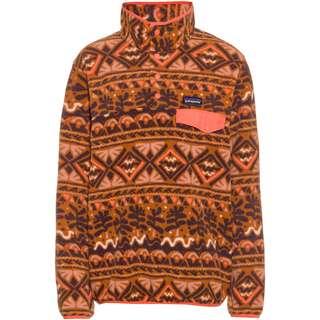 Patagonia Synch Snap Fleeceshirt Damen henna brown