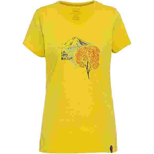 La Sportiva Bloom T-Shirt Damen celery