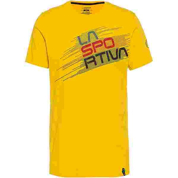 La Sportiva Stripe Evo Klettershirt Herren yellow