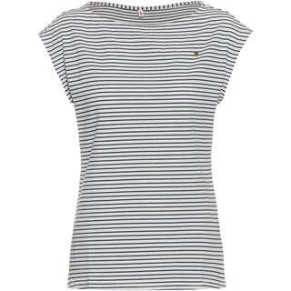Blutsgeschwister T-Shirt Damen blue tiny stripe