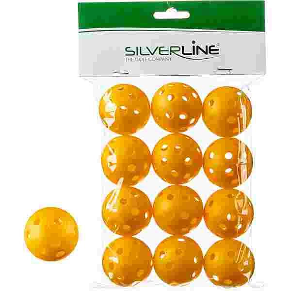 Silverline Golf Golfball gelb