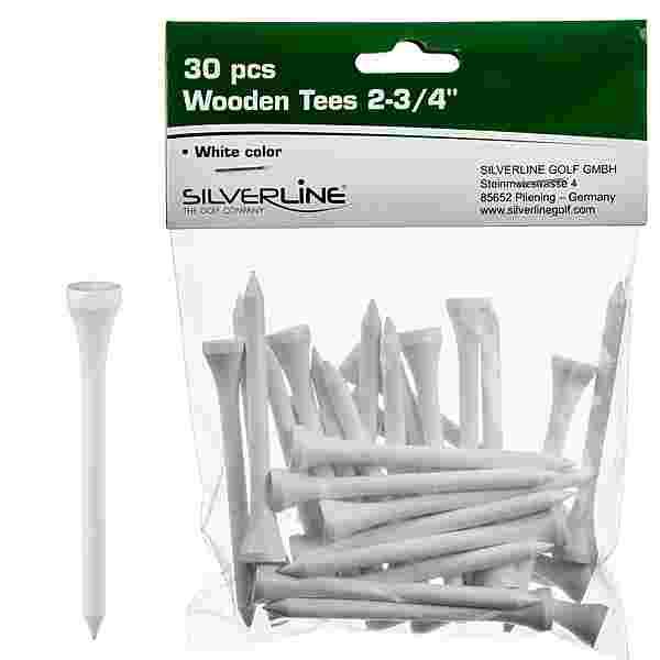 """Silverline Golf Holz 2 3/4"""" Zubehör weiß"""