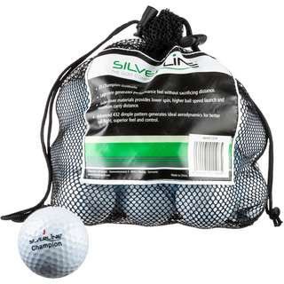 Silverline Golf Champion Golfball weiß
