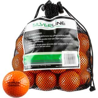 Silverline Golf Champion Golfball orange