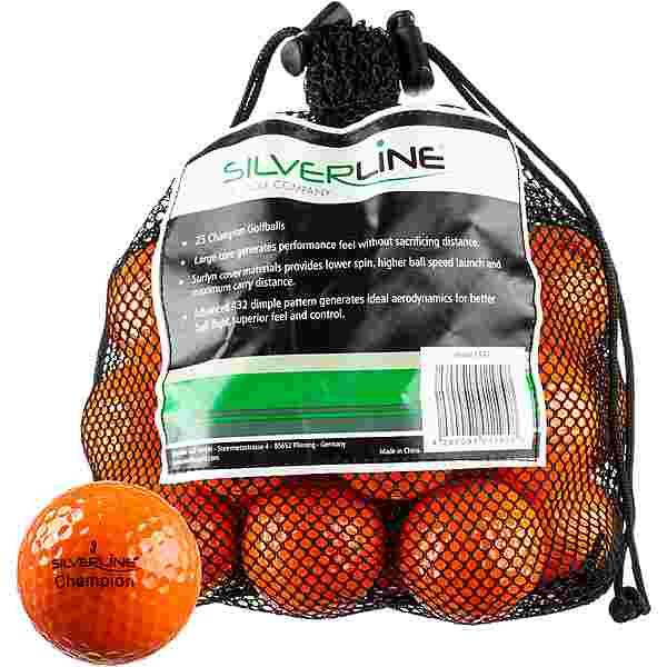 Silverline Golf Champion Golfball orange