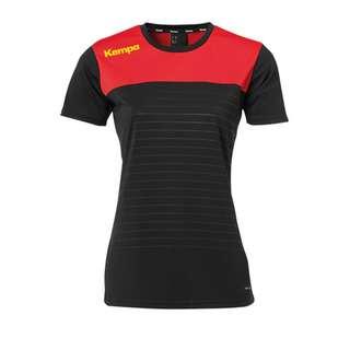 Kempa Emotion 2.0 Trikot Damen Fußballtrikot Damen schwarzrotgelb
