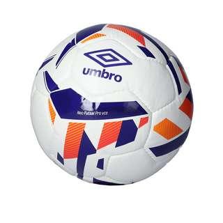 UMBRO Neo Futsal Pro Trainingsball Fußball weissblau