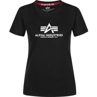 Alpha Industries New Basic W T-Shirt Damen schwarz