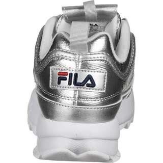 FILA Disruptor F Sneaker Damen silber/metallic