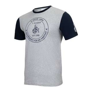Uhlsport 1. FC Köln Xmas T-Shirt Fanshirt grau
