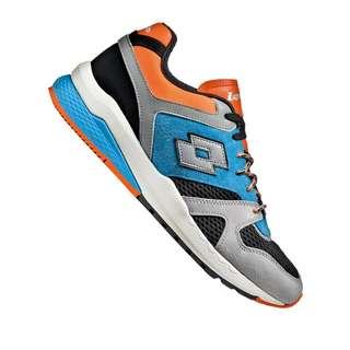 Lotto Marathon Block Sneaker Sneaker Herren grau
