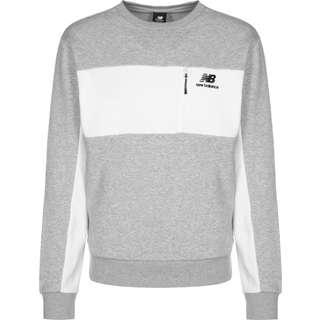 NEW BALANCE Athletics Fleece Crew Sweatshirt Herren grau