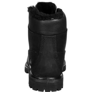TIMBERLAND 6-inch Premium Shearling Lined Stiefel Kinder schwarz