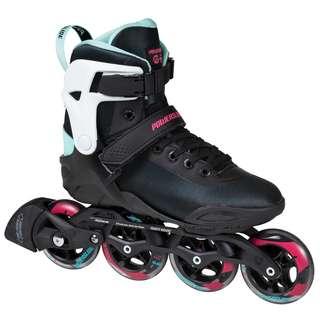 POWERSLIDE Radon Teal 90 Inline-Skates Damen black