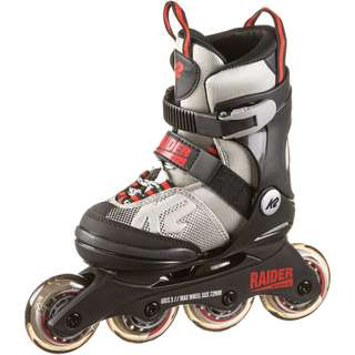 K2 RAIDER Inline-Skates Kinder grey-red