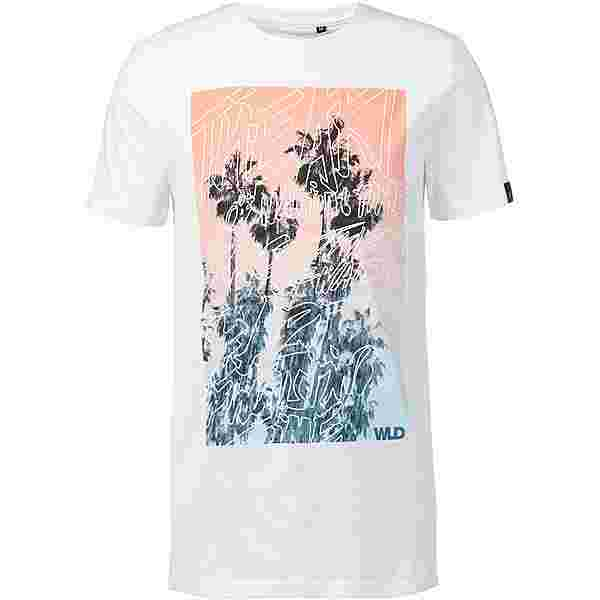 WLD Palmart T-Shirt Herren white