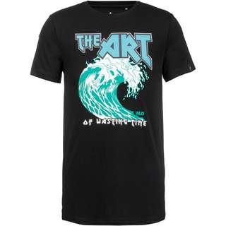 WLD Wasting Time T-Shirt Herren black