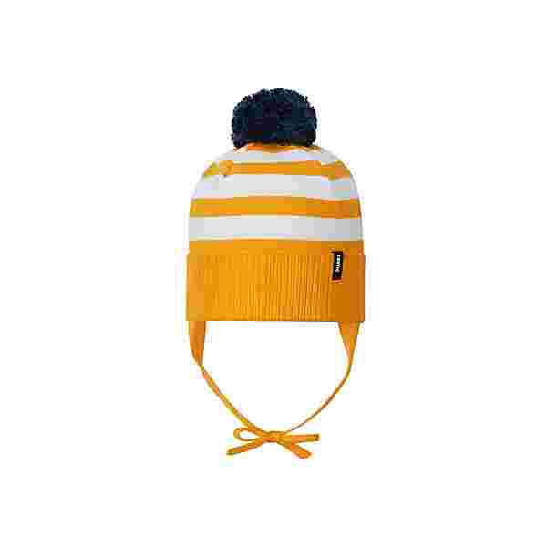 reima Lounatuuli Bommelmütze Kinder Orange yellow