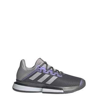 adidas SoleMatch Bounce Tennisschuh Sneaker Damen Grey Four / Silver Metallic / Grey Two
