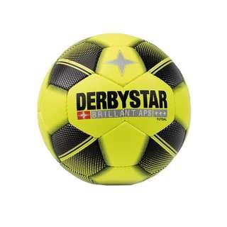 Derbystar Futsal Brill.  APS Spielball Gr.4 Fußball gelbschwarz