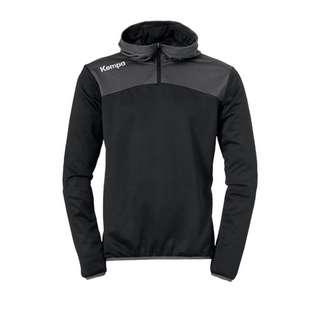 Kempa Emotion 2.0 Quarter Sweatshirt Funktionssweatshirt Herren schwarzgrau