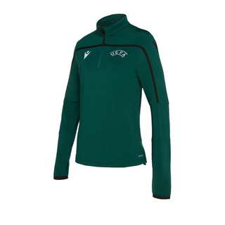 macron UEFA Training Sweatshirt Damen Funktionssweatshirt Damen gruenschwarz